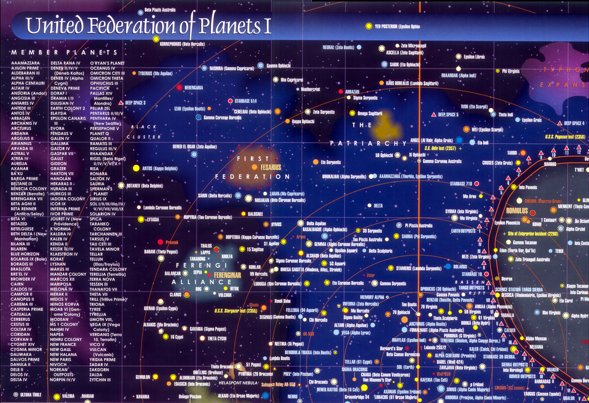map of federation of planets - photo #3