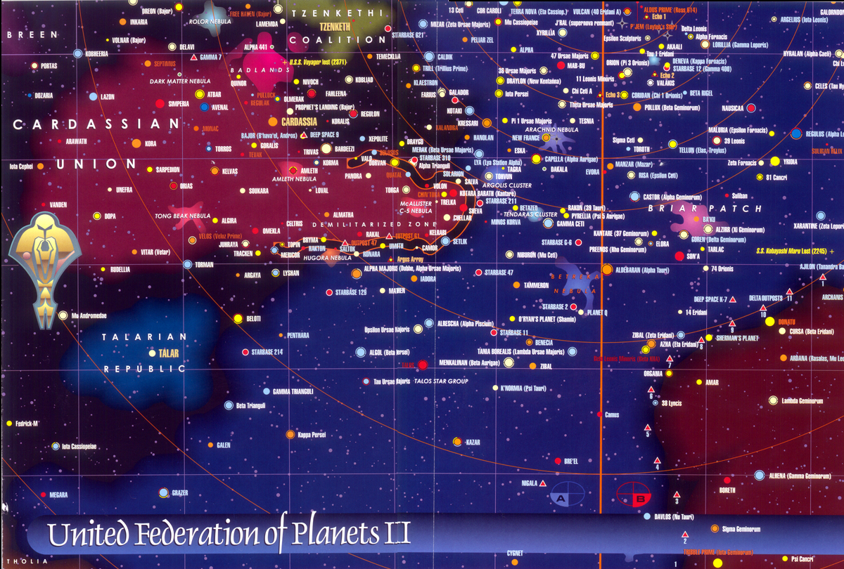 map of federation of planets - photo #1