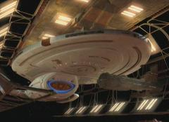 Voyager in drydock at the Utopia Planitia Fleet Yards
